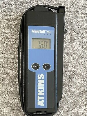 Cooper-atkins 351 Aquatuff Waterproof Thermocouple Thermometer New In Box