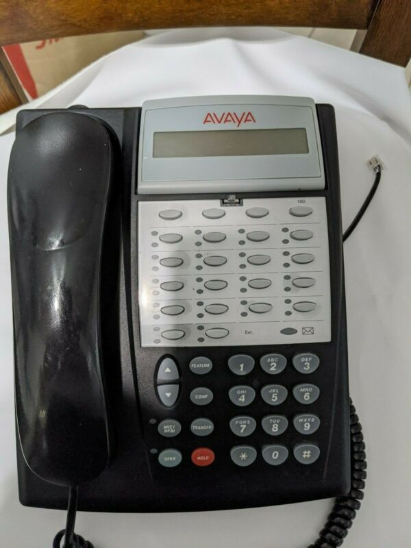Avaya Partner 18D Phone - Pulled From Working Avaya Office System