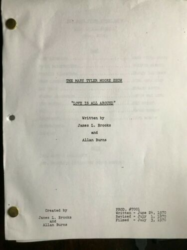 The Mary Tyler Moore Show TV script