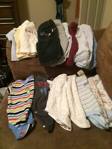 Garbage bag of boys clothes 0-6 months St. John's Newfoundland image 5