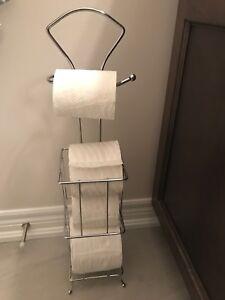 Toilet paper roll holder and dispenser- Brand New