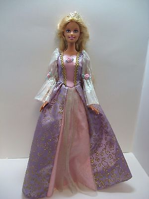 2001 Rapunzel Barbie doll  with growing hair