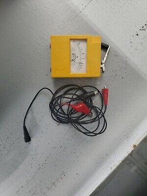Biddle Megger Hand Crank Insulation Tester 260560 Mark Iv 500 Volts