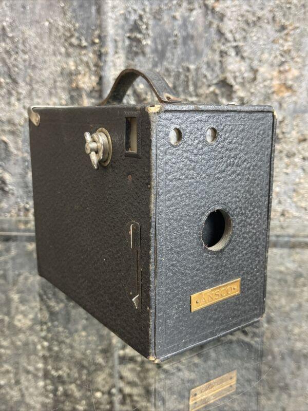 Antique Ansco Box Camera Victorian 1800