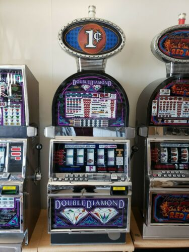 DOUBLE DIAMOND  COINLESS  IGT SLOT MACHINE  FUN FOR YOUR HOME