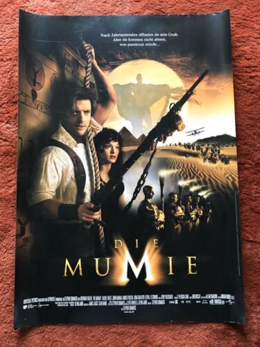 Die Mumie Kinoplakat Poster A1, Brendan Fraser, Rachel Weisz, Arnold Vosloo