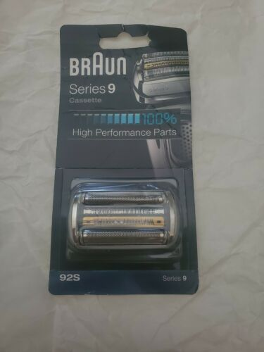 BRAUN 92S SERIES 9 CASSETTE SHAVER REPLACEMENT Head Silver 9