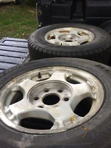 Chevy 6 bolt winter rims and tires