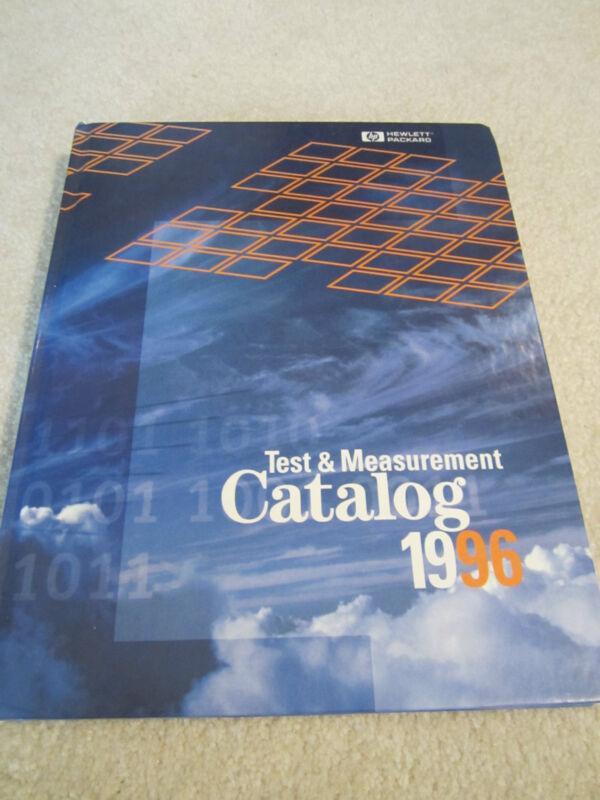 HP HEWLETT PACKARD TEST MEASUREMENT CATALOG 1996