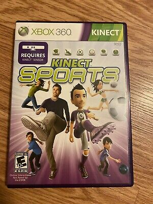 KINECT SPORTS XBOX 360 COMPLETE IN BOX W/ MANUAL CIB VERY GOOD for sale  Shipping to Nigeria
