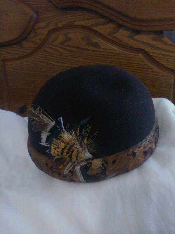 Halston Vintage Hat