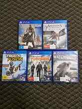 5 Ps4 games sell or trade Tarro Newcastle Area Preview