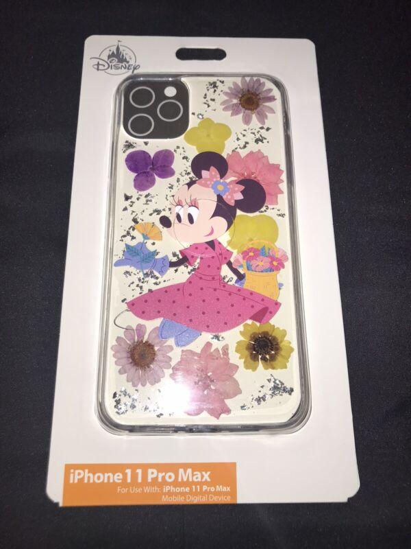 Disney Parks iPhone 11 Pro Max Minnie Mouse Genuine Flowers Case Disney Tech