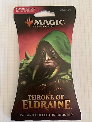 MTG Throne of Eldraine Collector Booster Pack Factory Sealed