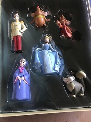 Disney Christmas Collection Cinderella Storybook Ornament Set 1990s