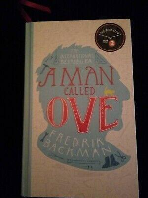A Man Called Ove, Fredrick Backman, BBC Radio signed edition with Saab doodle.