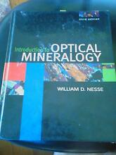 Introduction to Optical Mineralogy: William D Nesse Beerwah Caloundra Area Preview