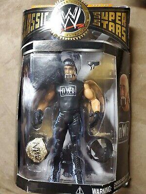 wwe wwf ljn classic superstars variant big nwo championship belt & hulk hogan