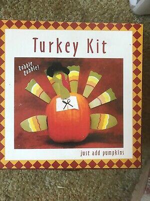Decorate A Turkey (Pumpkin Decorating Kit - Makes A)