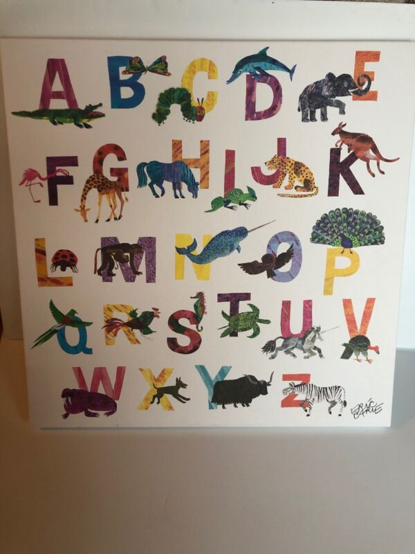 Eric Carle Alphabet Nursery/Kids Room Decor
