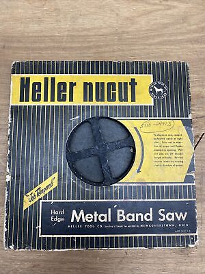 Heller Nu-carb Simonds Hard Edge Metal Band Saw Coil 14 4tpi About 60 Feet