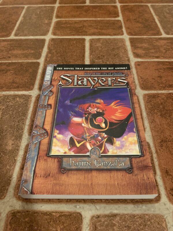 Slayers King Of The City Of Ghosts #8 Light Novel Hajime Kanzaka Tokyopop