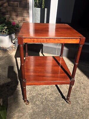 Antique Victorian Mahogany Whatnot / Side Table