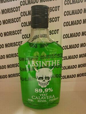 ABSENTA CALAVERA VERT 89,9% 350ml 35cl 0,35L ABSINTHE ASSENZIO ABSENT ABSINTH