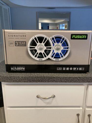 Fusion 8.8 Marine White Speakers 2  - $375.00
