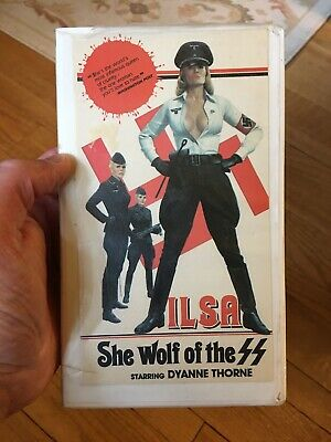 ILSA SHE WOLF OF THE SS (1975) VHS Tape Dyanne Thorne Directed By Don