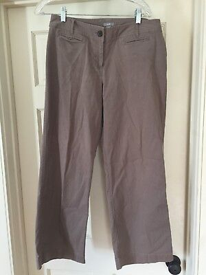 Used, Womens J. Jill Brown Stretch Pants 10P Used for sale  Bristol