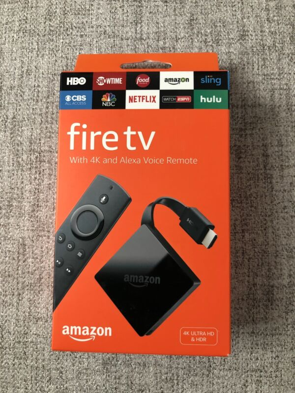 Amazon Fire TV with 4K Ultra HD and Alexa Voice Remote Black B01N32NCPM