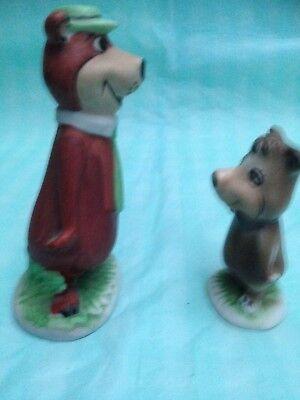 Hanna Barbera Ceramic Figures Yogi and Booboo for sale  Egham