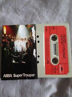 Abba - Super Trouper - Cassette Tape Album