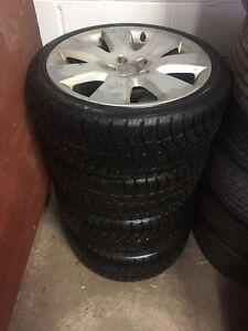 225/40/18 Winter Audi Oem Wheels @ Tires