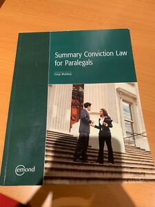 Summary conviction law