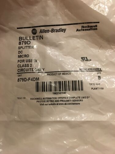 Allen-Bradley 879D-F4DM Splitter New