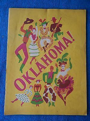 Oklahoma! - Theatre Souvenir Program - 1947 - Jimmy Alexander - Jerry Mann