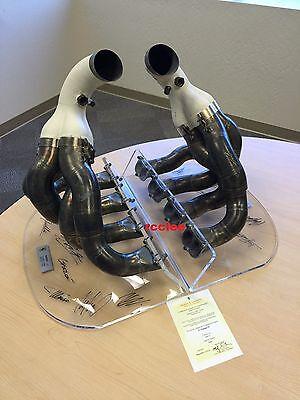 Ferrari F1 2006 248-F1 race used engine exhaust Schumacher Alonso Kimi signed