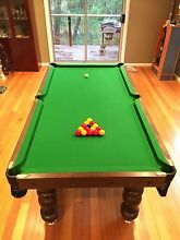 Professional Pool / billiards Table 7ft Warranwood Maroondah Area Preview