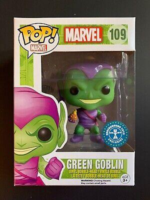 Funko POP! Green Goblin #109 - Marvel - Underground Toys Exclusive + Protector