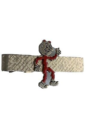 Vintage Reddy Kilowatt Tie Clip Electricity Electric Power Company Character