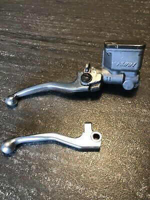 Honda CR125R, CR250, CR500 Front Brake Master Cylinder Assembly & Spare OE Lever