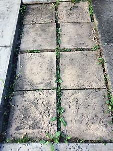 8 square paving tiles (40x40cm) Ryde Ryde Area Preview