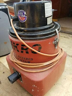Nikro Lv 10 Hepa Vac Vacuum W Hoses And Wand Units