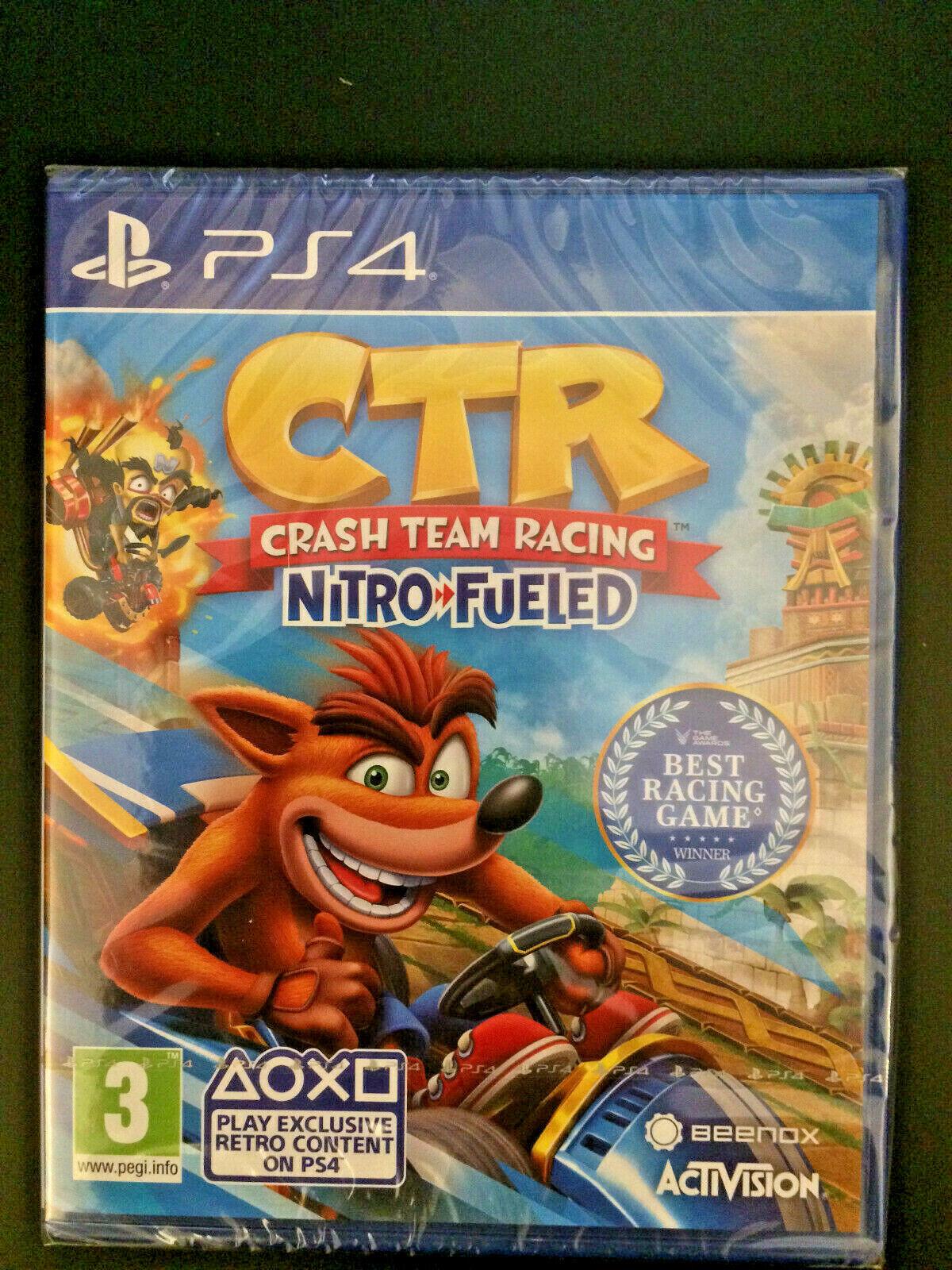 CTR Crash Team Racing Nitro Fueled für Sony PlayStation 4 - Neu