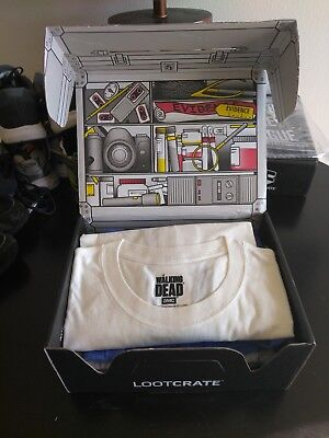 Men's T-SHIRTS! (Size XL) Lootcrate Apparel Box (5 Items) All Brand New