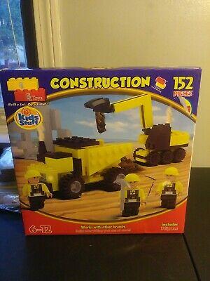 KIDS STUFF BEST LOCK CONSTRUCTION TOYS 152 PIECES 3 Figures Include (Best Construction Toys For Kids)