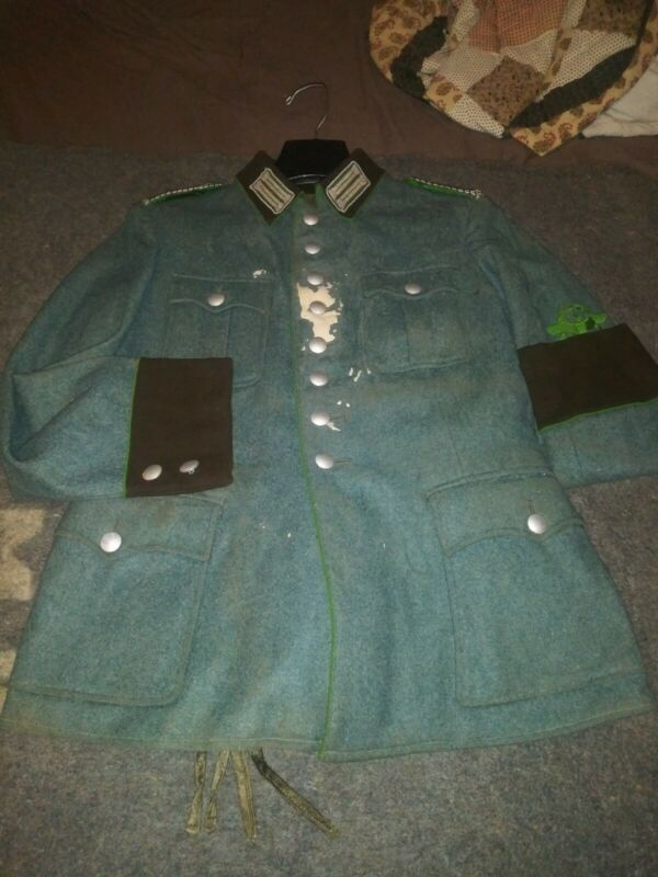 Original World War II Named German Police Uniform Set