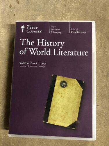 The Great Courses The History Of World Literature DVD FREE SHIPPING  - $22.00